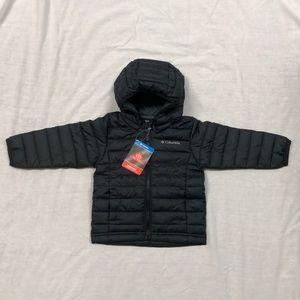 •13X HP•Columbia Powder Lite Boys Hooded Jacket/2T